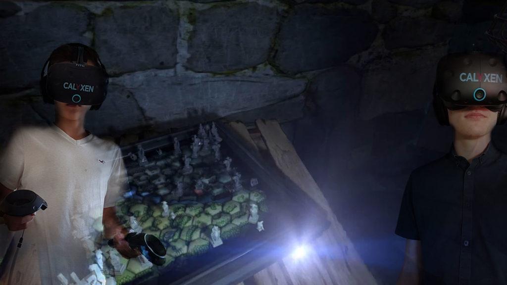 Animatoin réalité virtuelle - Soirée entre amis.